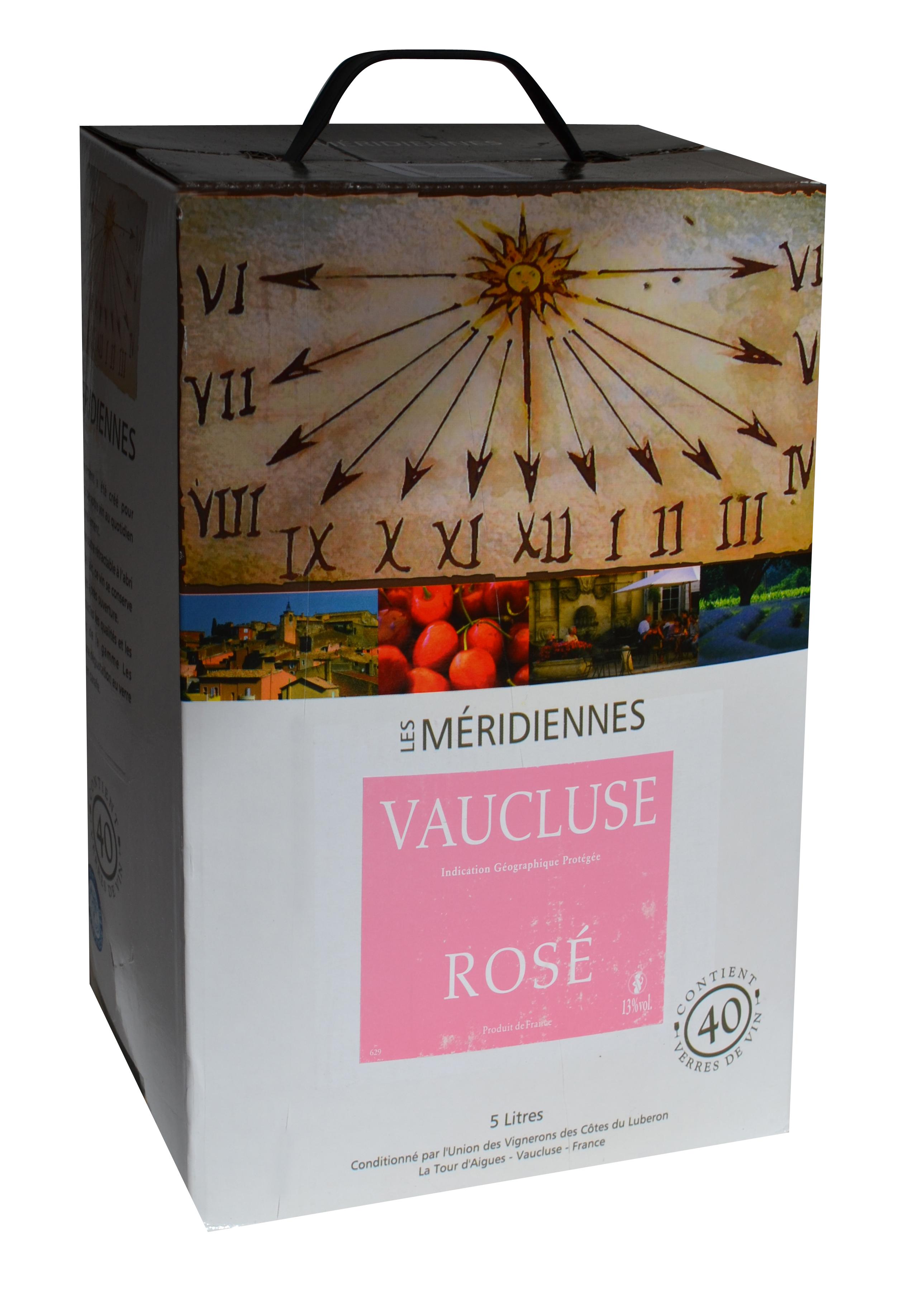 vin rose les meridiennes vaucluse bib de l xml